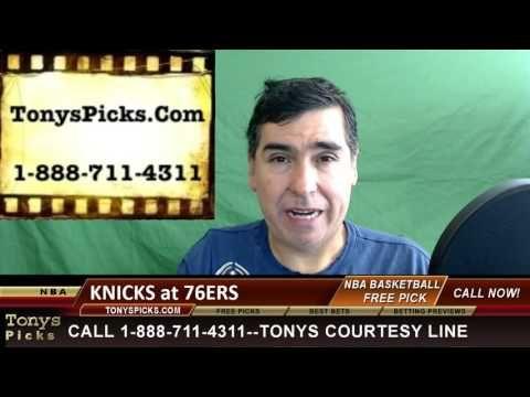 New York Knicks vs. Philadelphia 76ers Pick Prediction NBA Pro Basketbal...