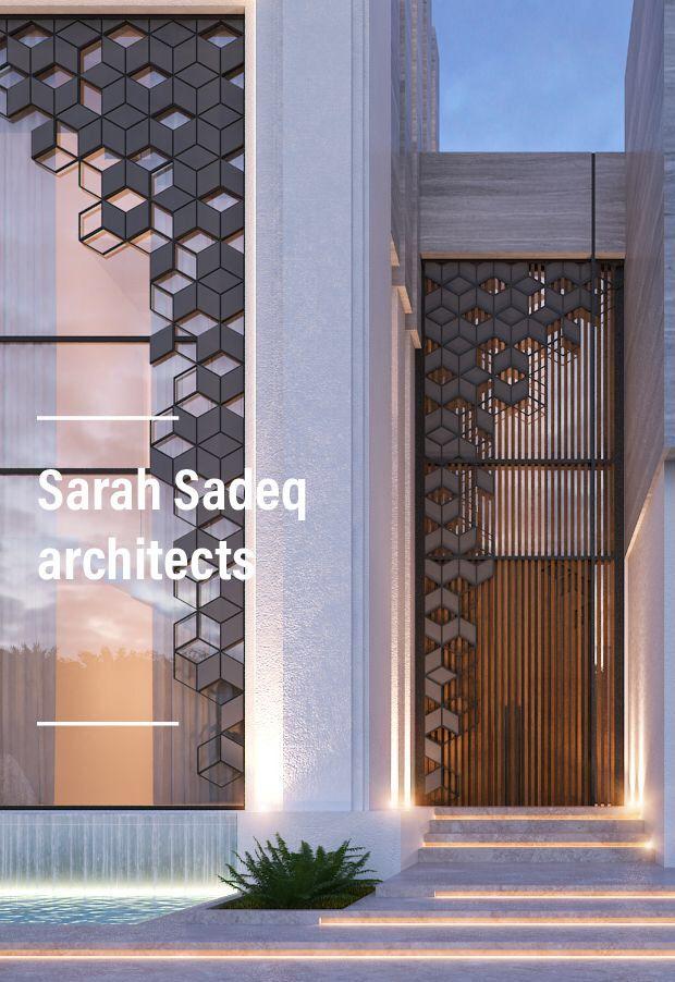 New Jumaira project by Sarah Sadeq architects Dubai . Kuwait