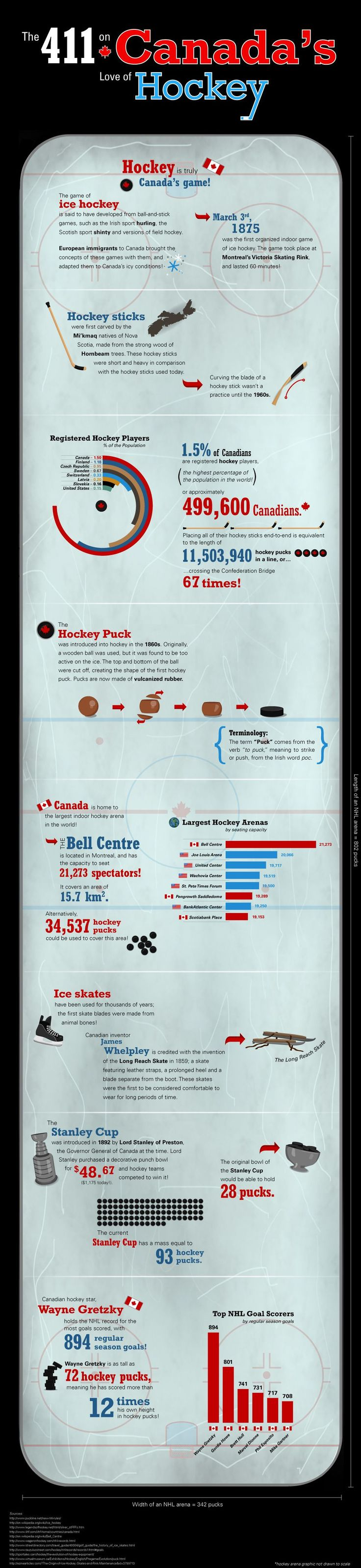 Canada Loves Hockey, but so does America. I just wish there was more hockey presence in my hometown of L.A.