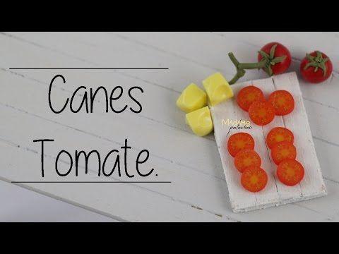 Canes Tomato / Tomato Cane (Tuto fimo / polymer clay) - YouTube