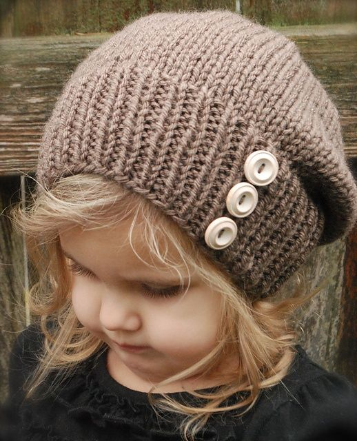 I know its on a little girl, but its still a freakin cute hat!!! <3