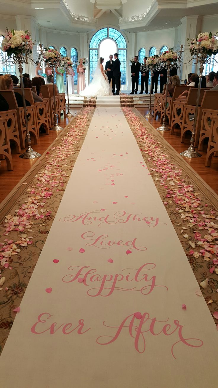 A real life fairy tale story at Disney's Wedding Pavilion. Photo: Brittany, Disney Fine Art Photography