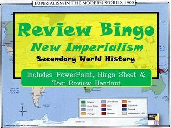 The 25 best ms power point presentation ideas on pinterest new imperialism bingo review game world history toneelgroepblik Gallery