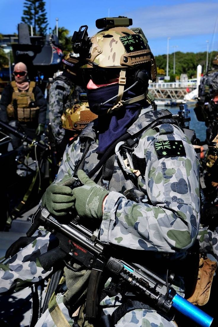 An Australian special forces operator from Tactical Assault Group