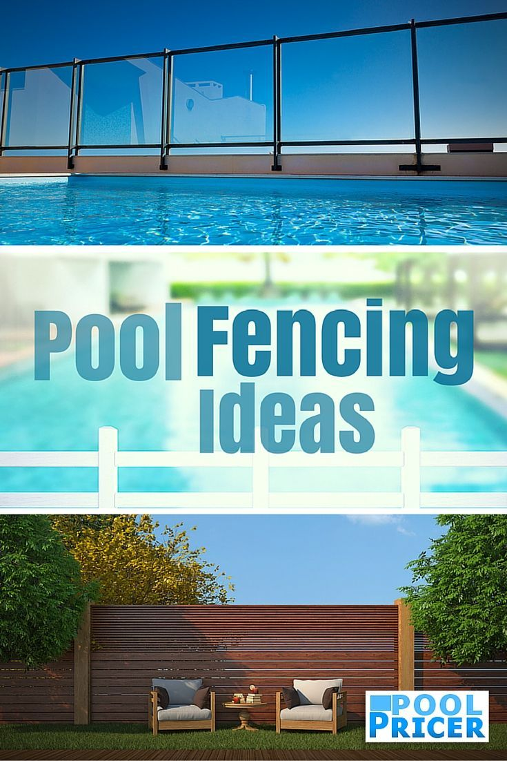 Pool fencing ideas pictures - There Are So Many Different Ways To Do An Inground Pool Fence Depending On Whether