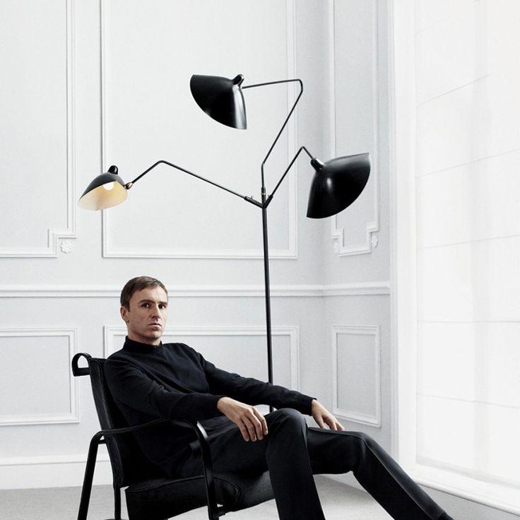 469 best brownstone images on pinterest bathroom ideas Serge mouille three arm floor lamp