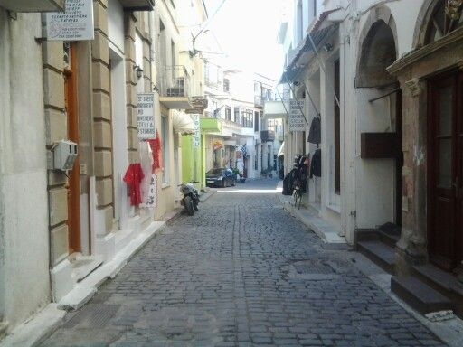 One of the shopping streets