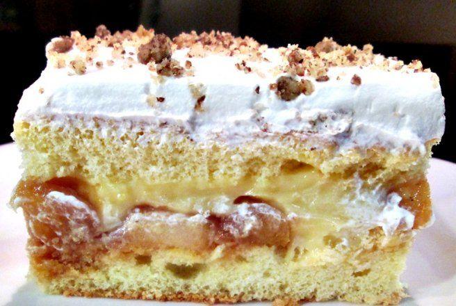 Retete Culinare - Prajitura cu mere caramelizate