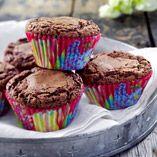 Brownies i form - Recept http://www.dansukker.se/se/recept/brownies-i-form.aspx #brownies #choklad #recept