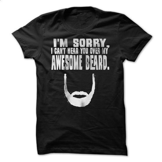 Awesome Beard - #mens shirts #cotton t shirts. GET YOURS => https://www.sunfrog.com/LifeStyle/Awesome-Beard-29653763-Guys.html?60505