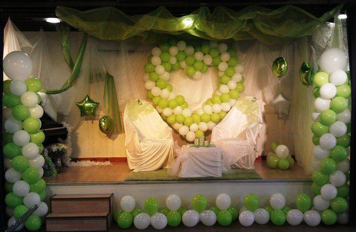 Ballongutsmyckning vid bröllop