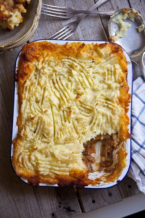 Roast Garlic Shepherd's Pie