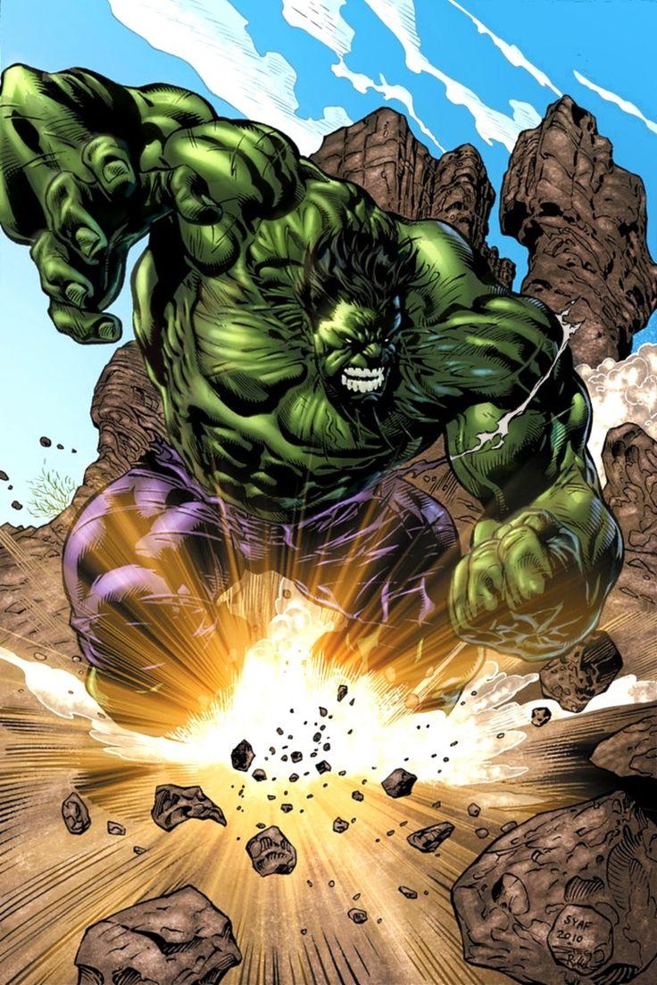 "thecomicninja: ""Hulk Smash by Ardian Syaf """