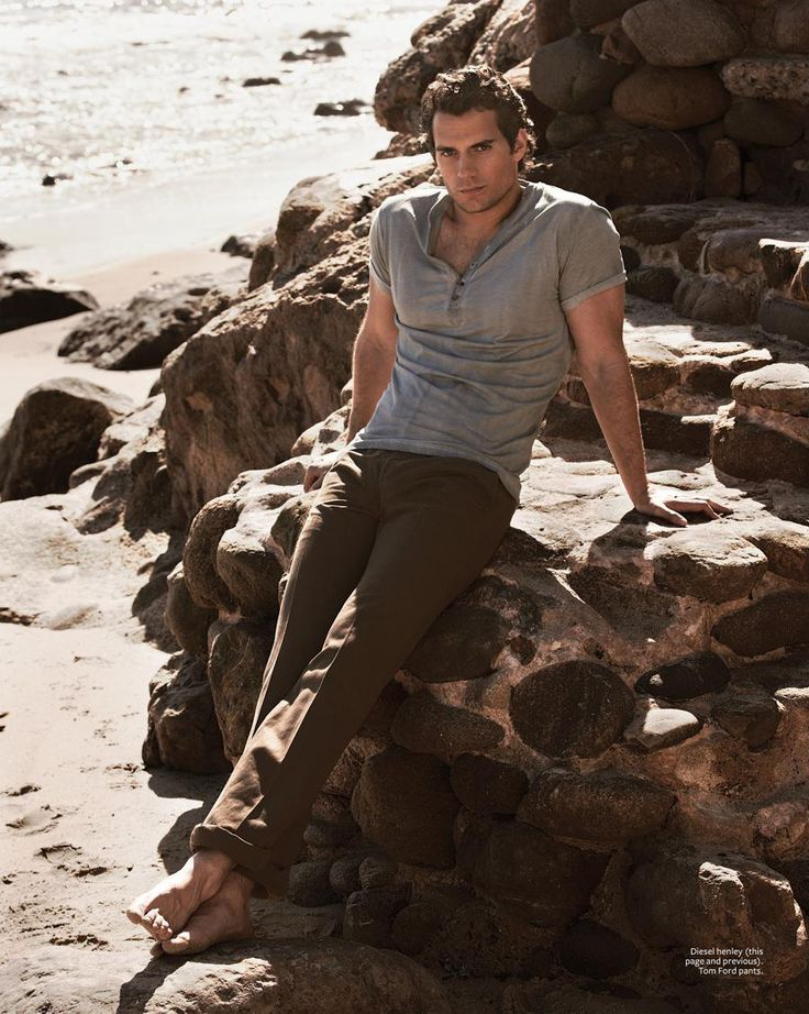 Henry Cavill for InStyle Magazine