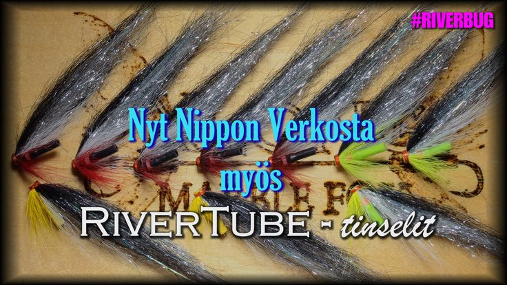"""RiverBug 3.0 """"thinsell"""" wing flies for trout. #fly fishing #fishing #riverbug #rivertube www.riverbug.fi"""