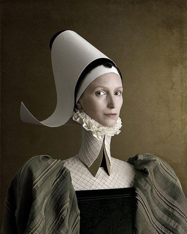 Renaissance portrait by Christian Tagliavini.