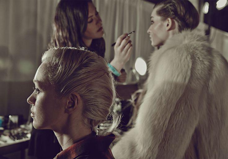 Thanks evo - sass & bide present their AW14 collection, NOVATEUR at New York Fashion Week #sassandbide #nyfw #novateur #evohair