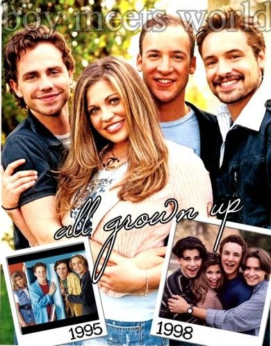This will forever be one of my favorite shows. Boy Meets World :}