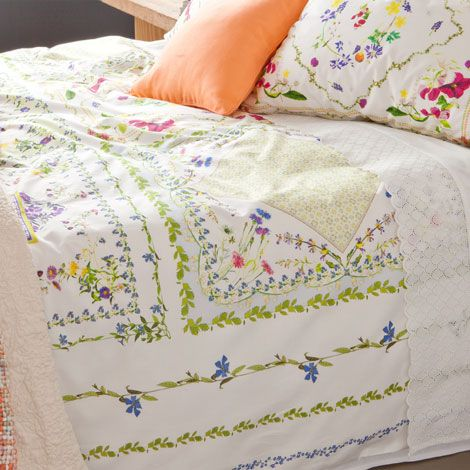Garden-Print Bedding | ZARA HOME United States of America. $150. No shams. Reg, king & euro available. So pretty