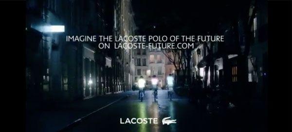 No seu 80º aniversário, a Lacoste homenageia o espírito visionário do seu fundador René Lacoste, imaginando no futuro a sua mais lendária invenção: o pólo L.12.12.