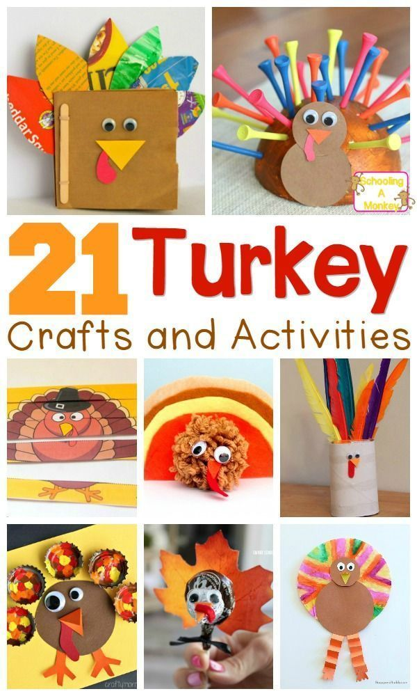 Looking for a fun craft to try this Thanksgiving? You can go wrong with any of these turkey craft ideas! Kids will love making these Thanksgiving birds.