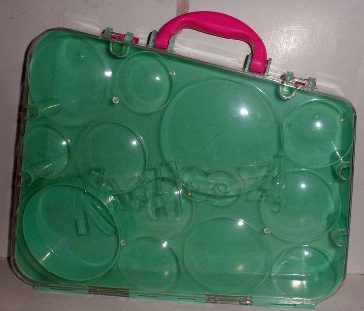 S Kachooz! Travel Case for 12 with spinning wheel toys B9 #Kachooz #carryingcase