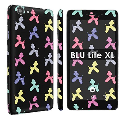 Buy BLU Life XL [Phone Skin] - [SkinGuardz] Full Body Scratch Proof Vinyl Decal Sticker with [WallPaper] - [Black Balloon Dog] for BLU Life XL NEW for 1.78 USD | Reusell