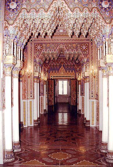 Castello di Sammezzano in Reggello, Toscana, Italia - an amazing building