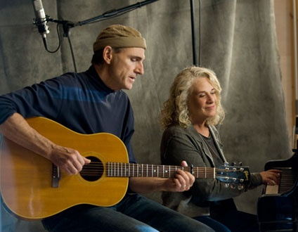 James Taylor & Carole King- they and their music have both aged extremely well.