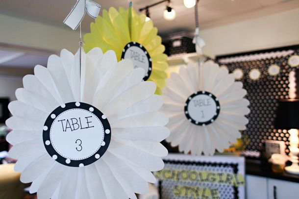 Table numbers. Seriously, the cutest classroom I have ever seen!!! Really shouldn't have looked at this.