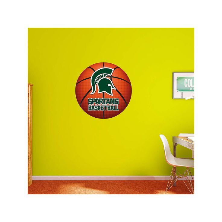 Michigan state basketball logo