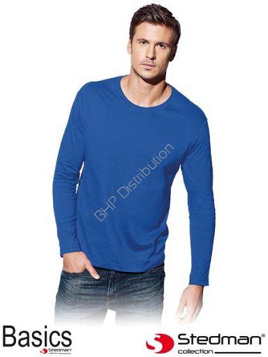 Niebieska koszulka z długim rękawem ST2500_BRR