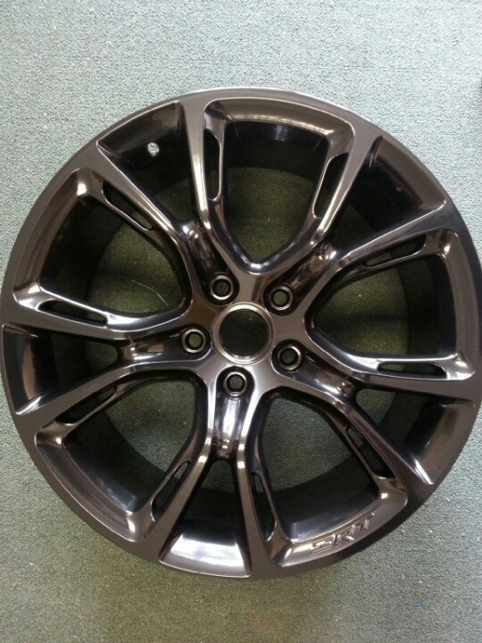 Rim powder coated #wheel