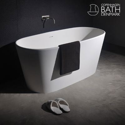 Vi har fått en ny baderomsleverandør! Copenhagen Bath! Merket er utrolig elegant, tidløst og sofistikert. Du får med en gang følelsen av luksus. Vår nyeste