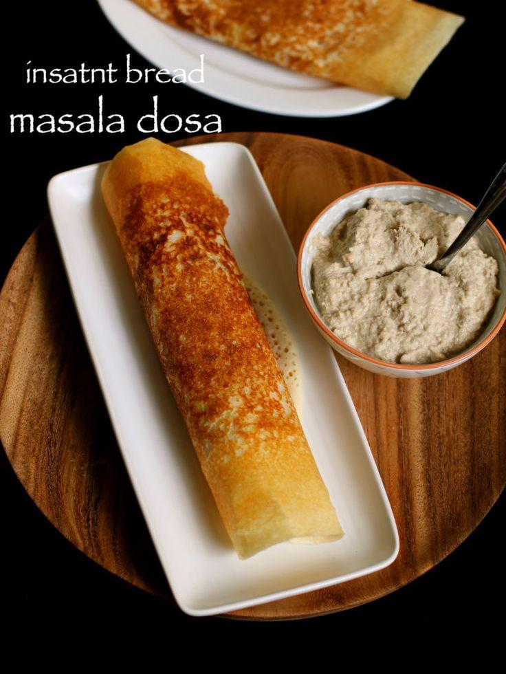Bread Dosa Hebbar S Kitchen