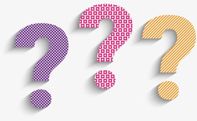 Tricolor Signo De Interrogación, Pregunta A Mark Dibujo, Pregunta ...