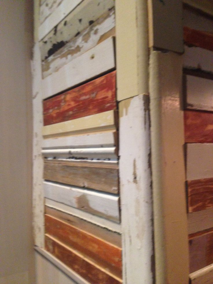 PHOTO 7: What seems like recycled timber panels at San Antone is very different and eco-friendly. The colours are all neutral so it doesn't look too busy despite the different shapes and sizes.