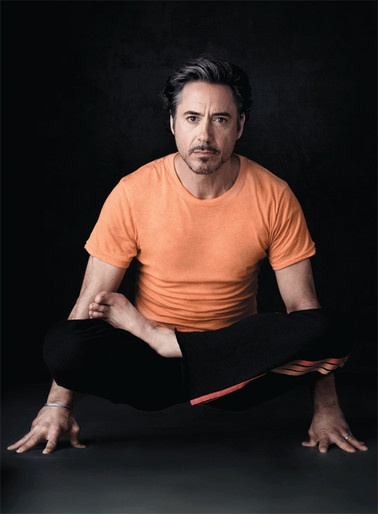 Oh my YES! Take a class from me!   RDJ practicing yoga: http://yogaforbeginners-andmore.blogspot.com/2014/01/namaste-will-you-practice-today.html