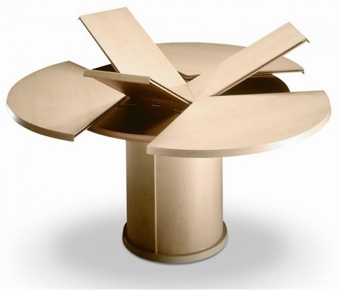 Expandable Dining Table Round