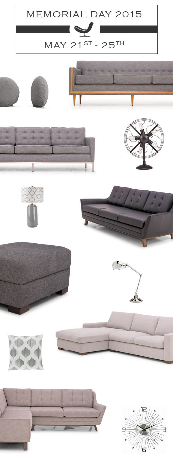 Joybird A Mid Century Modern Online Furniture Company Based Out Of L.A.  Design At Your