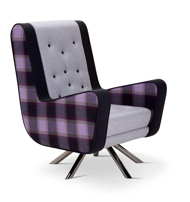 Gulp #tessutiscozzesi #tartanfabrics #purple #newswinter2014
