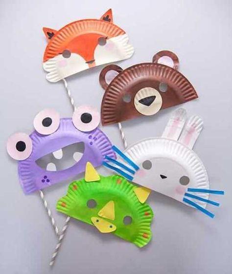 diese diy ideen f r faschingsmasken werden deine kinder. Black Bedroom Furniture Sets. Home Design Ideas