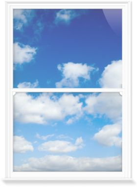 Window Films of Sky and Clouds I by Nic Miller Photography (1000mm x 1500mm)   Shop   Surface View