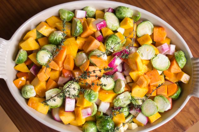 ... | Pumpkins, Roasted Winter Vegetables and Roasted Root Vegetables
