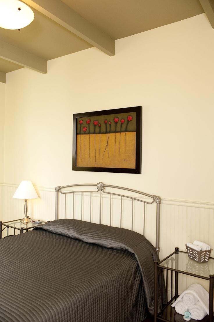 Une des 4 chambres à coucher, située au premier étage.