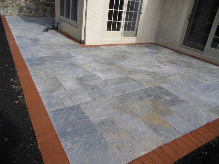 Best Slate Patio Sealer Flagstone Patio Cost Canada