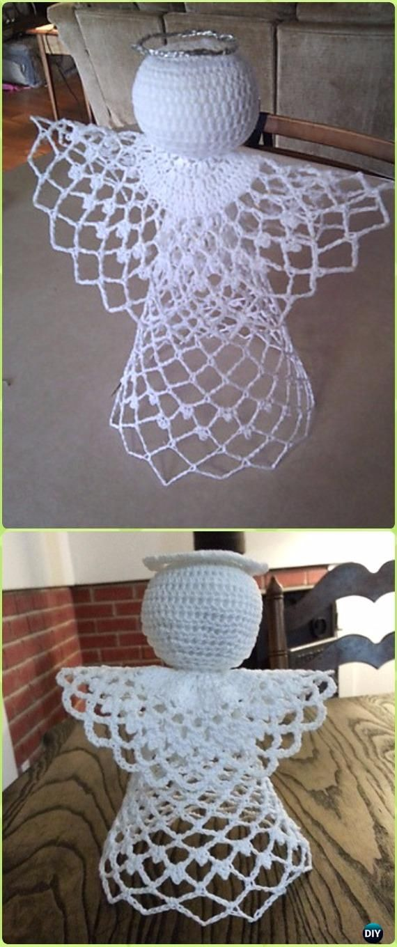 Crochet Tree-Topper Angel Free Pattern - Crochet Angel Free Patterns