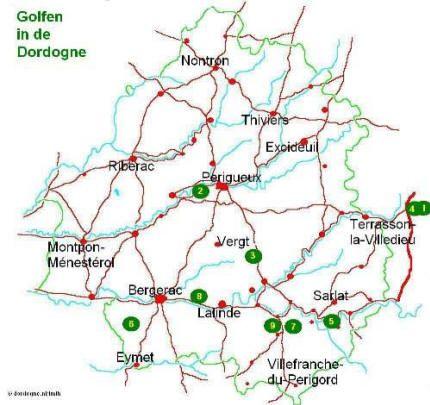 In de omgeving van ons park Domaine de Lanzac zijn prachtige golfbanen en golf in de Dordogne. www.francecomfort.com