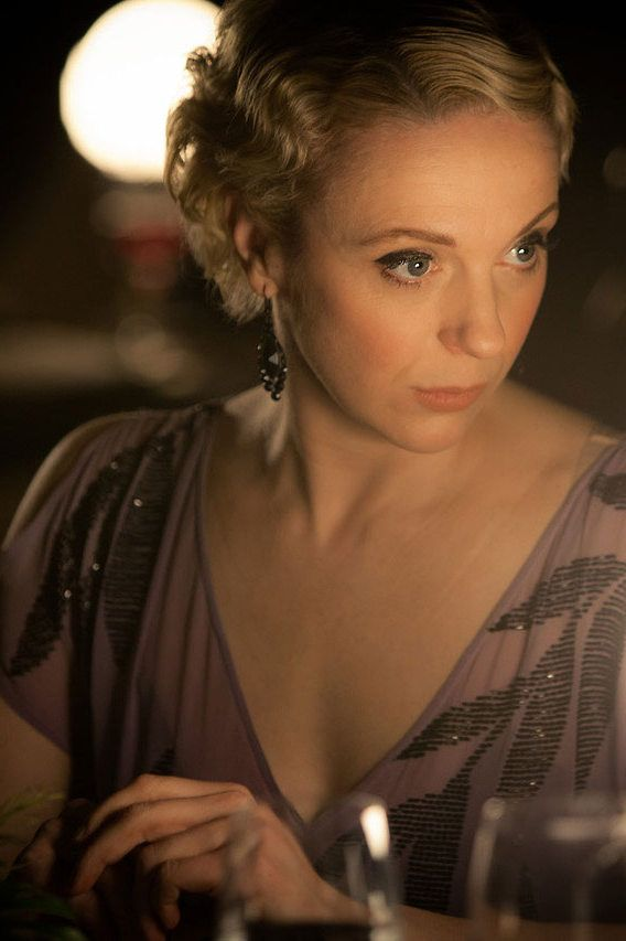 Sherlock series 3 - The Empty Hearse introducing Amanda Abbington as Mary Morsten....she was absolutely amazing