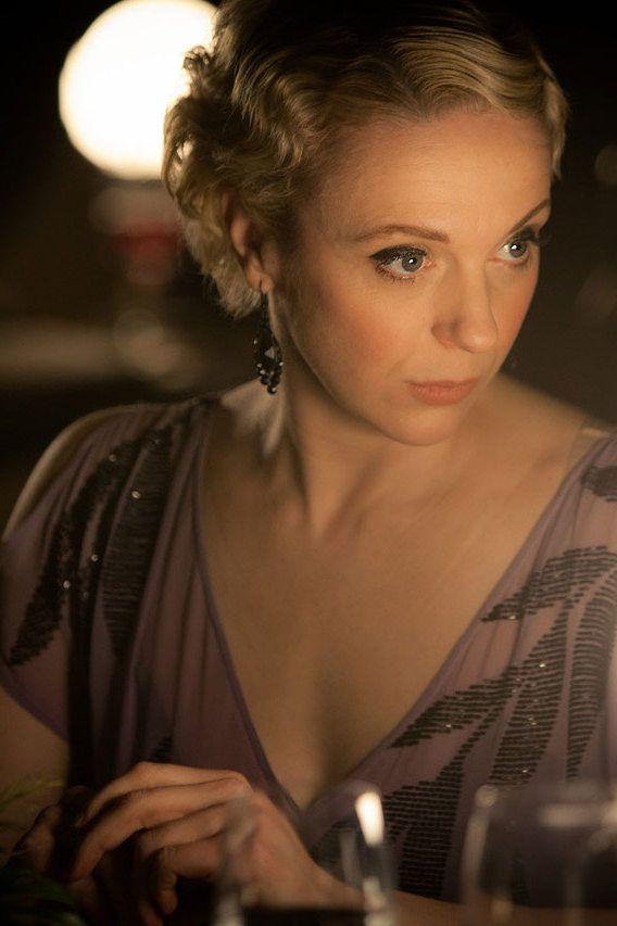 Sherlock series 3 - The Empty Hearse introducing Amanda Abbington as Mary Morsten....she was absolutely amazing